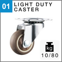 Light duty caster
